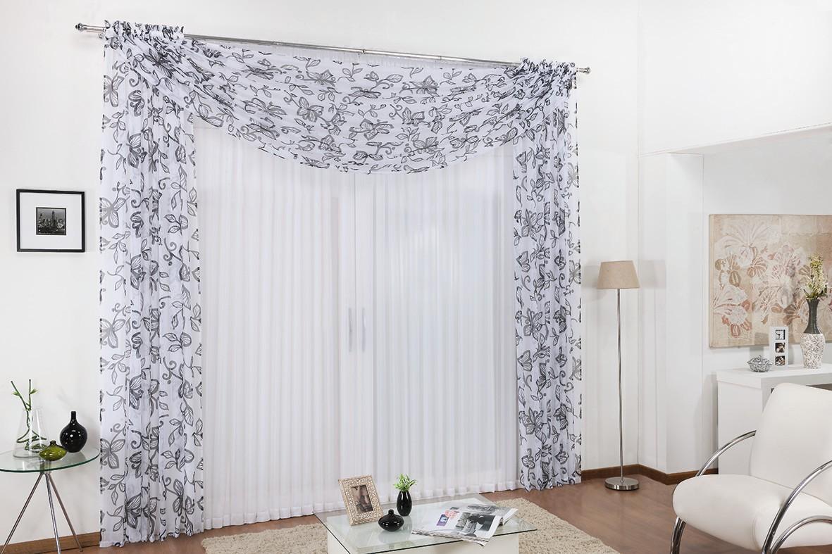 cortina belle varao duplo Madric Enxovais #674B3A 1181x787 Banheiro Casal Duplo