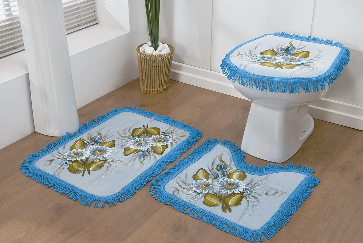 Início > Para Banheiro > Jogo de Banheiro > Jogo de Banheiro  #316F9A 1181 791