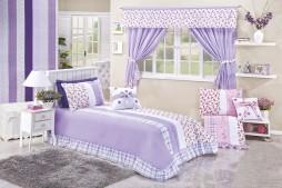 cobre leito solteiro gabi cortina