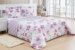 cobre leito tropical rosa