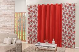 cortina-floratta-vermelho